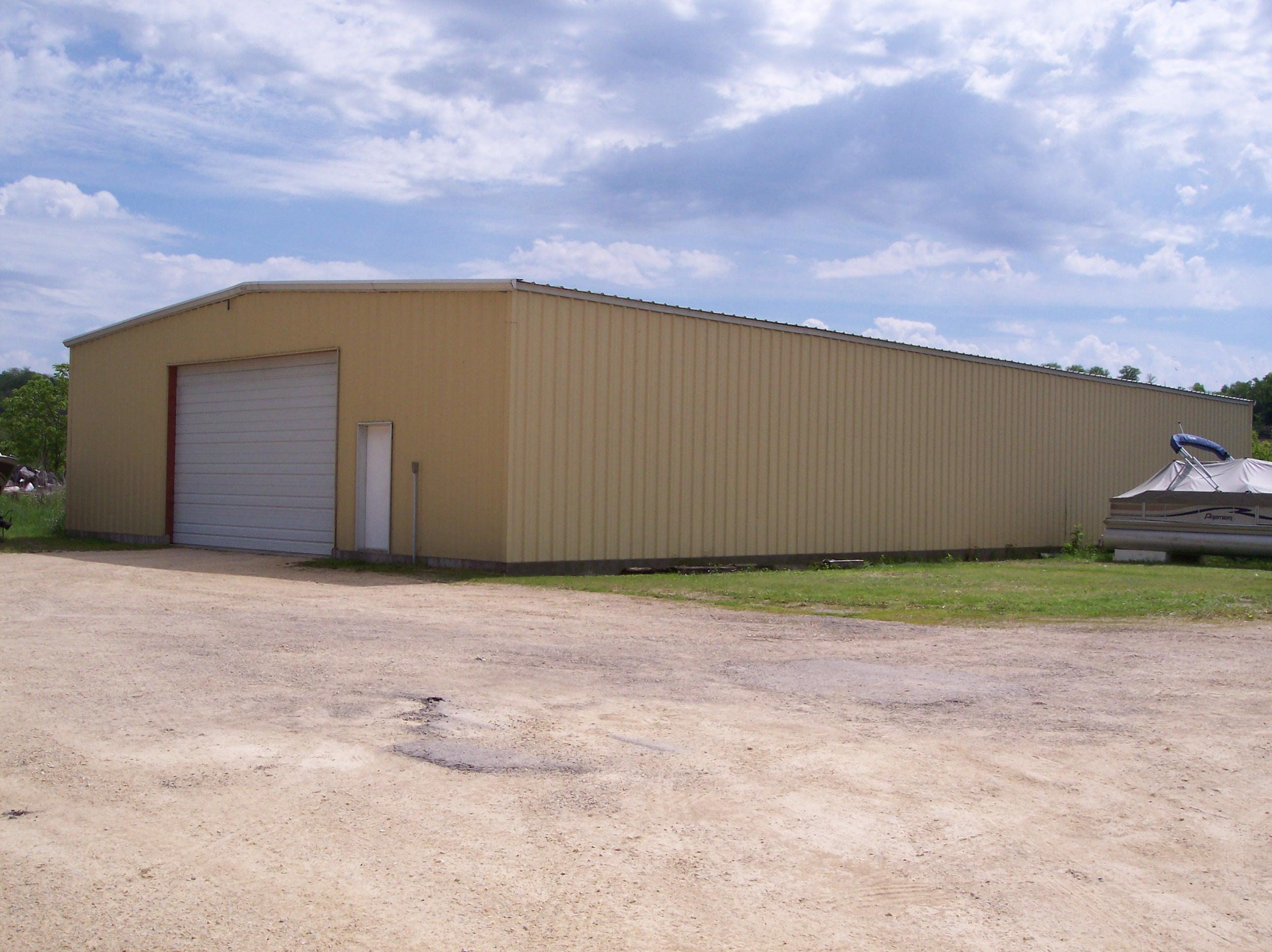Bob's Marine in Bellevue, IA | First Storage Building @ Bob's Marine in Bellevue, Iowa